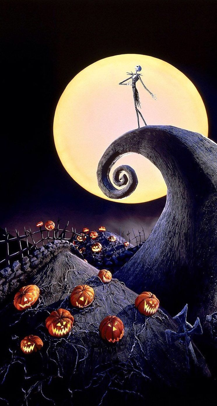 744x1392 iPhone and Android Wallpapers: Halloween Movie Wallpaper for ...