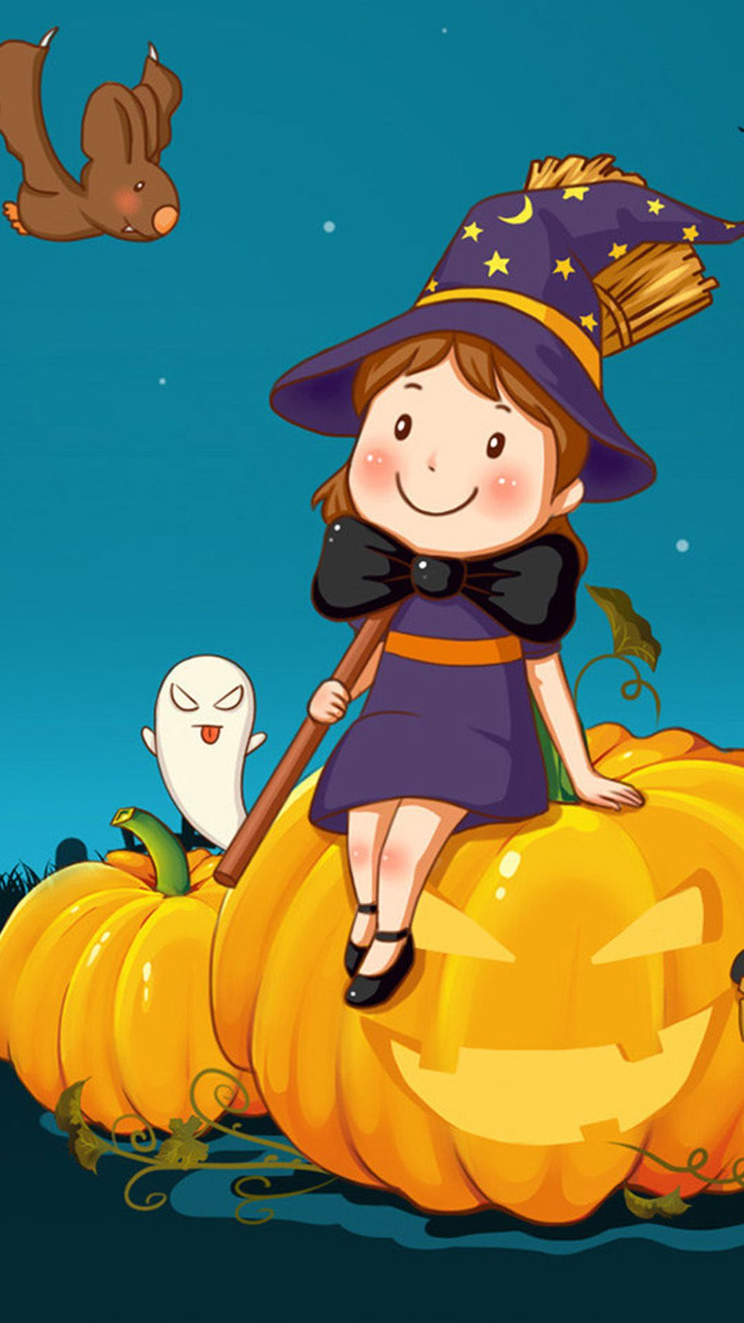 1080x1920 Cute Halloween Android wallpaper - Android HD wallpapers