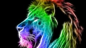 Cool Neon Lion Wallpapers – Top Free Cool Neon Lion Backgrounds