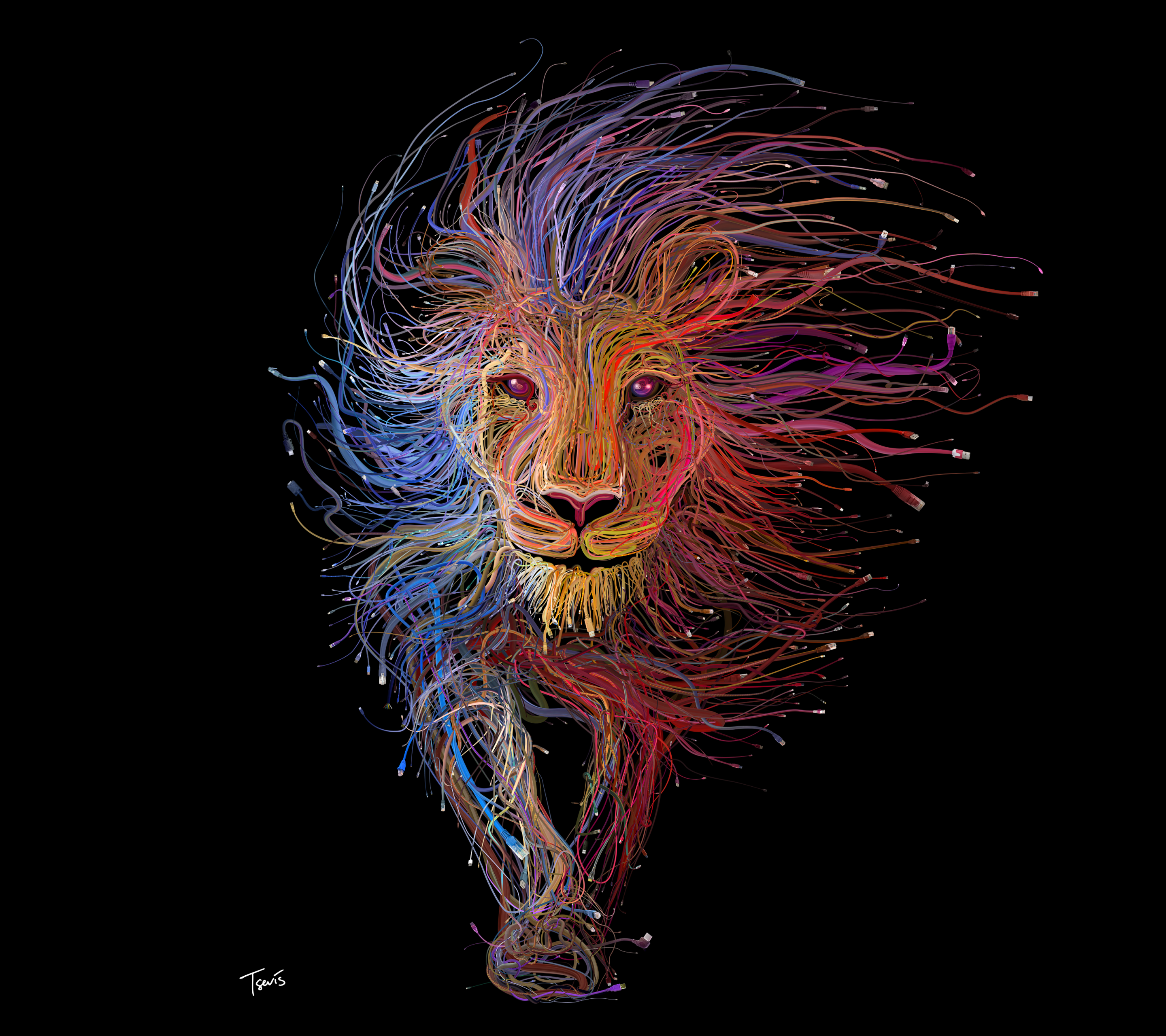 2880x2560 Fantasy/Lion (2880x2560) Wallpaper ID: 627918 - Mobile Abyss