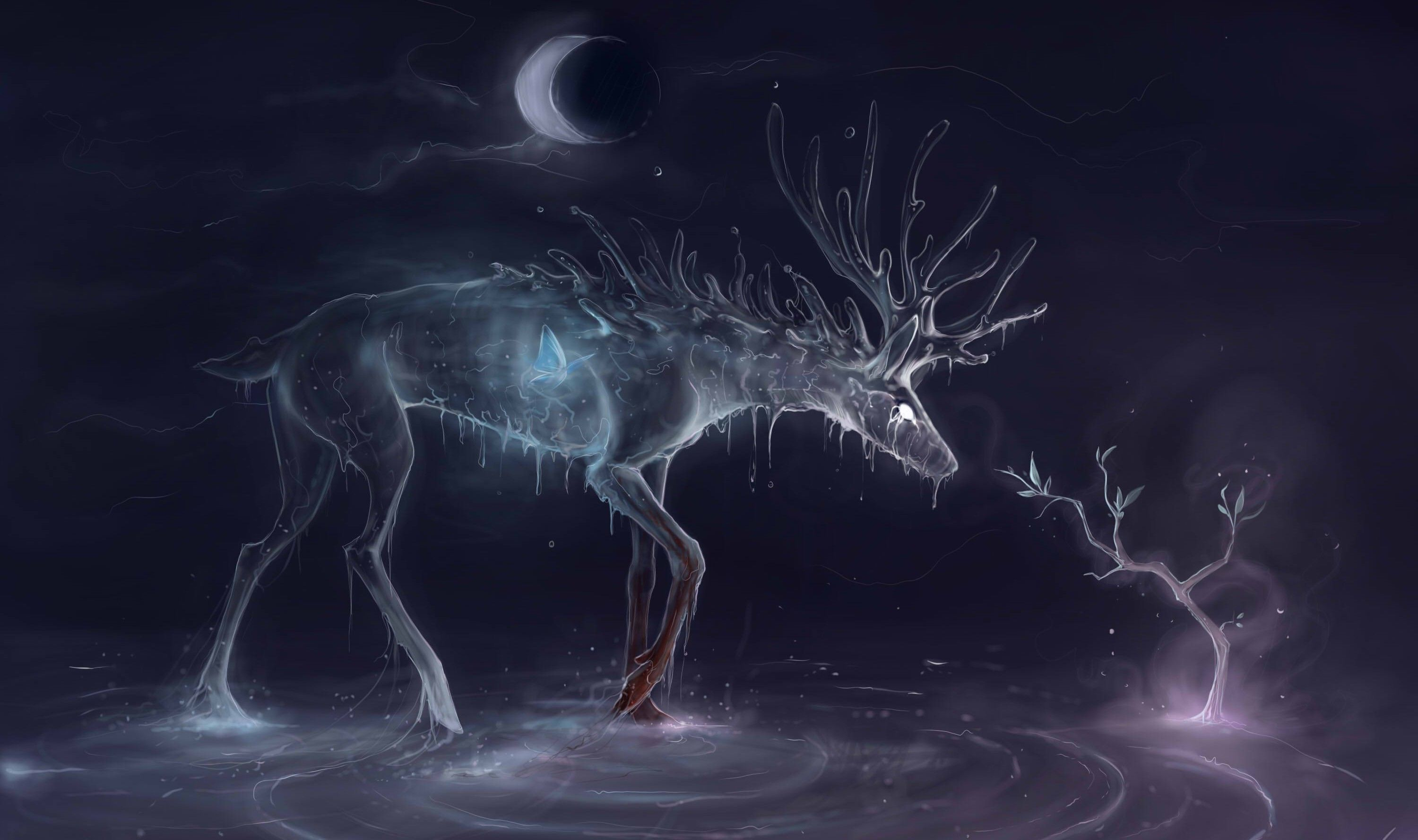 3000x1778 395 Deer HD Wallpapers | Background Images - Wallpaper Abyss