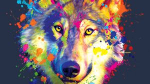 Colorful Wolf Neon Wallpapers – Top Free Colorful Wolf Neon Backgrounds