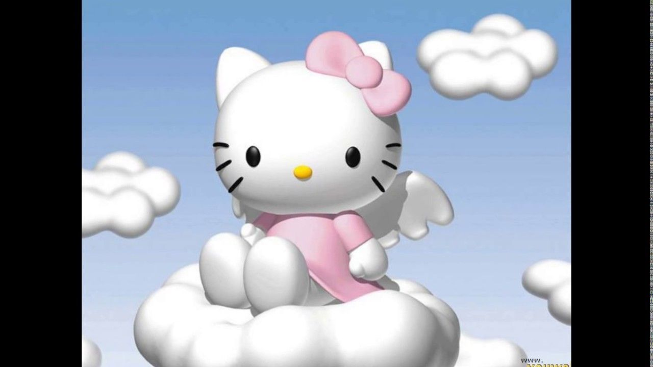 1280x720 Hello Kitty 3D Wallpapers