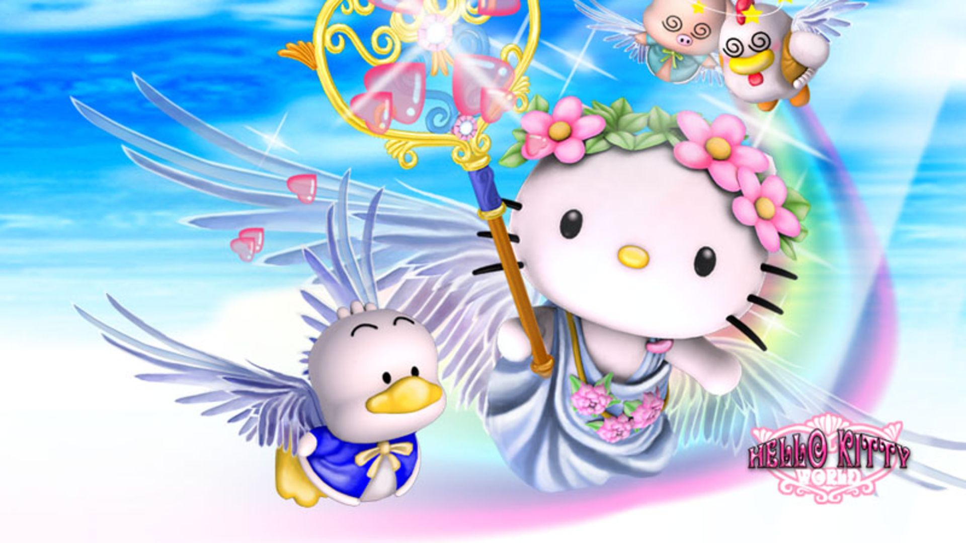 1920x1080 Hello Kitty 3D wallpaper - 1193808