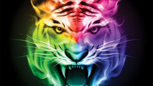Colorful Tiger Wallpapers – Top Free Colorful Tiger Backgrounds