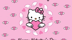 Hello Kitty Valentine's Day Wallpapers – Top Free Hello Kitty Valentine's Day Backgrounds
