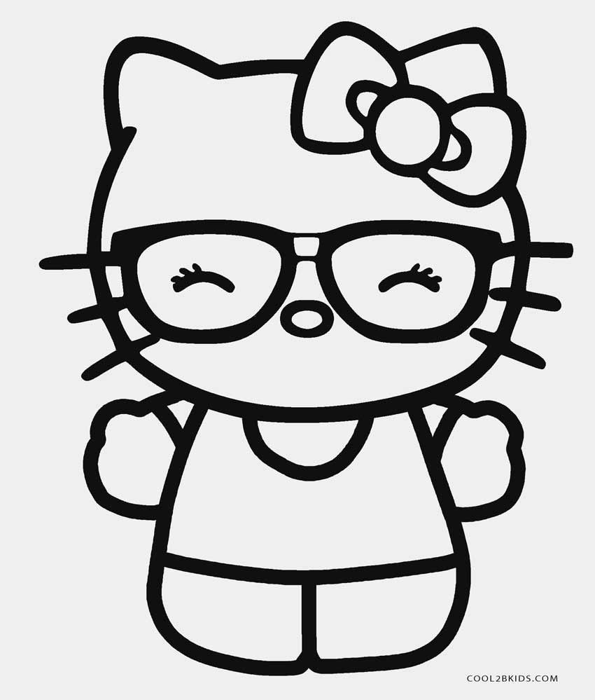 850x999 Coloring Pages : Coloring Pages Nerd Hello Kitty Wallpaper ...