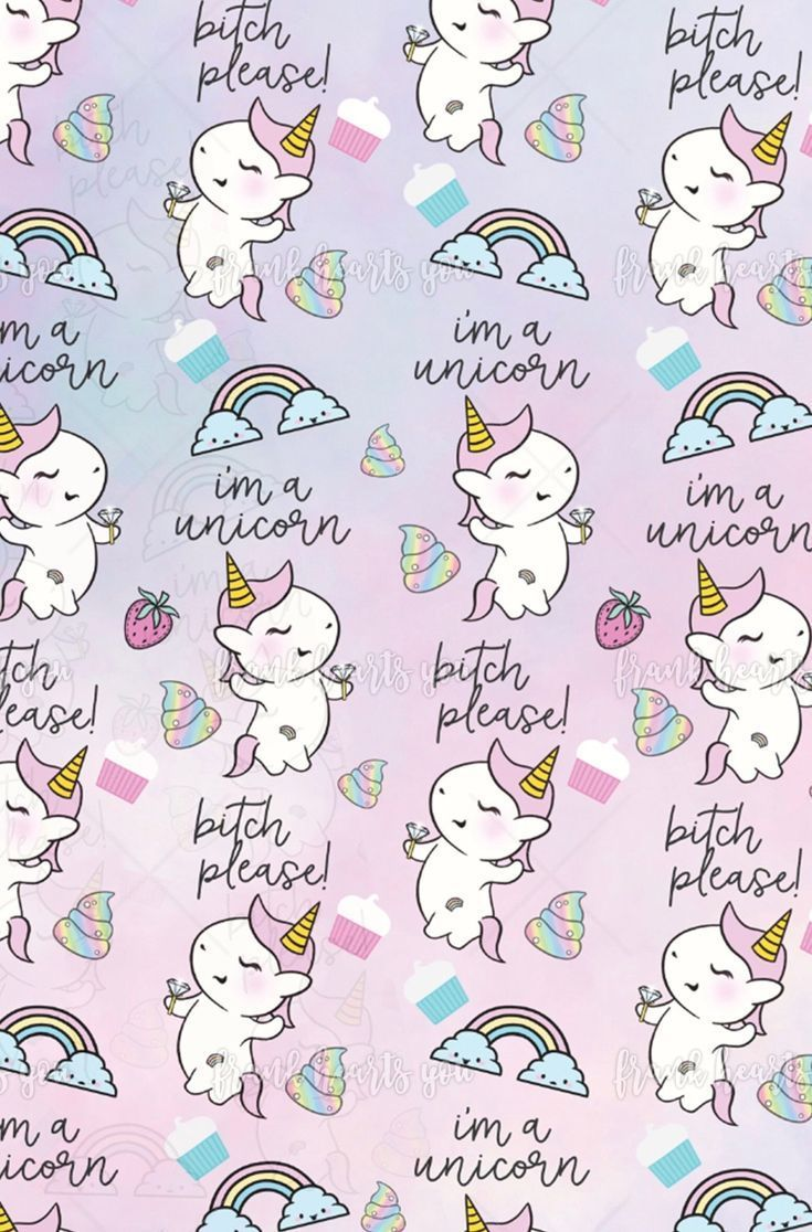 735x1116 I'm A Unicorn @frankheartsyoutoo | iPhone wallpapers in 2019 ...