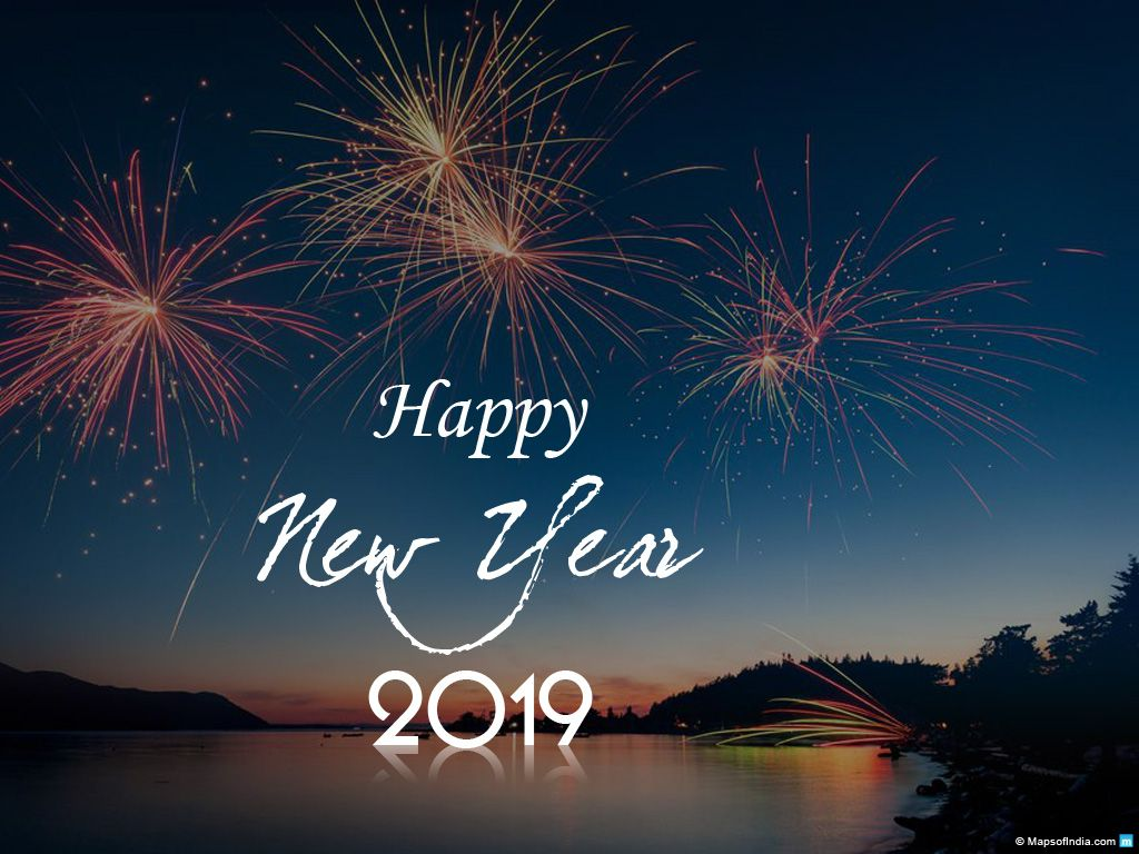 1024x768 New Year Wallpapers and Images 2019, Free Download Happy New ...