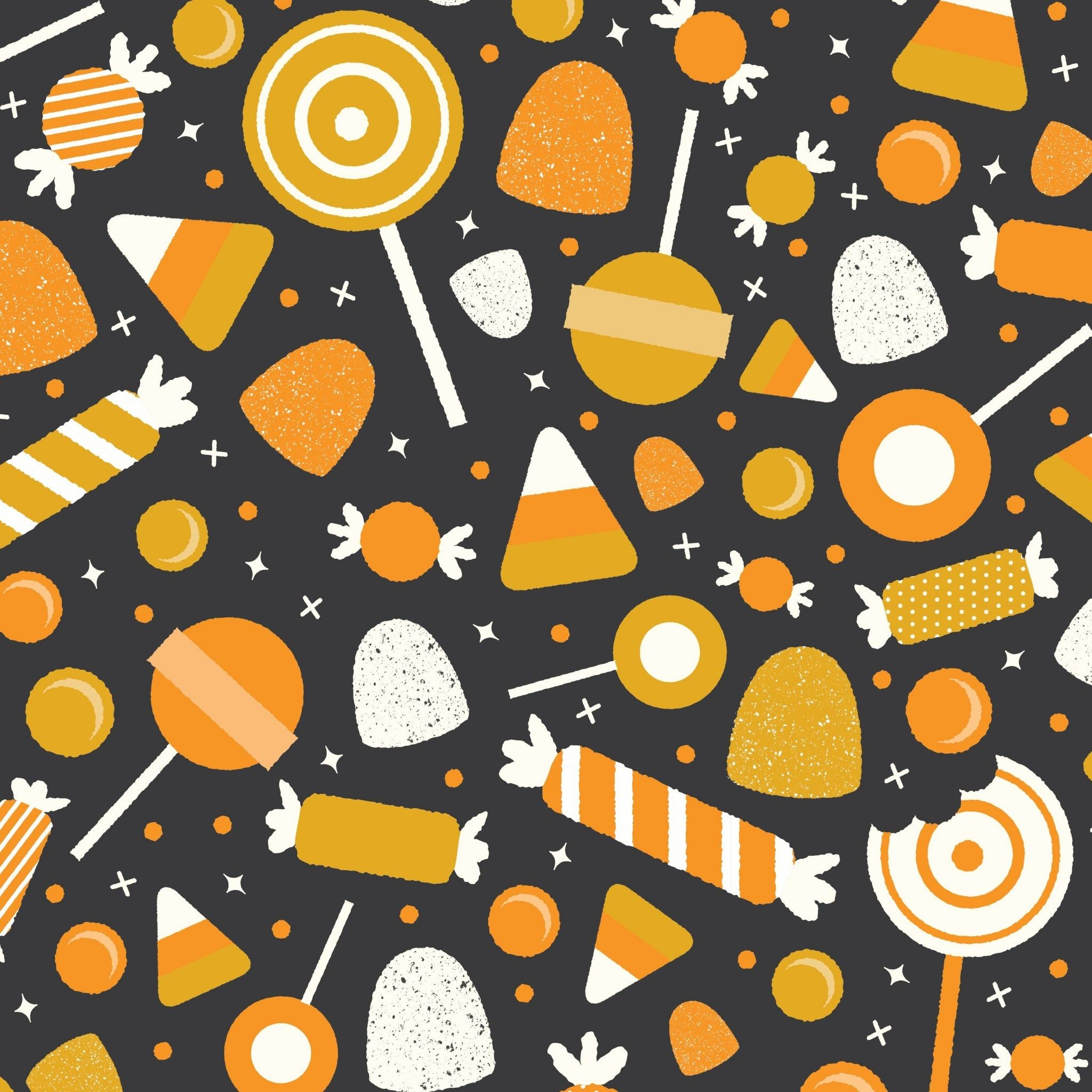 2048x2048 Halloween Candy Wallpaper (55+ images)