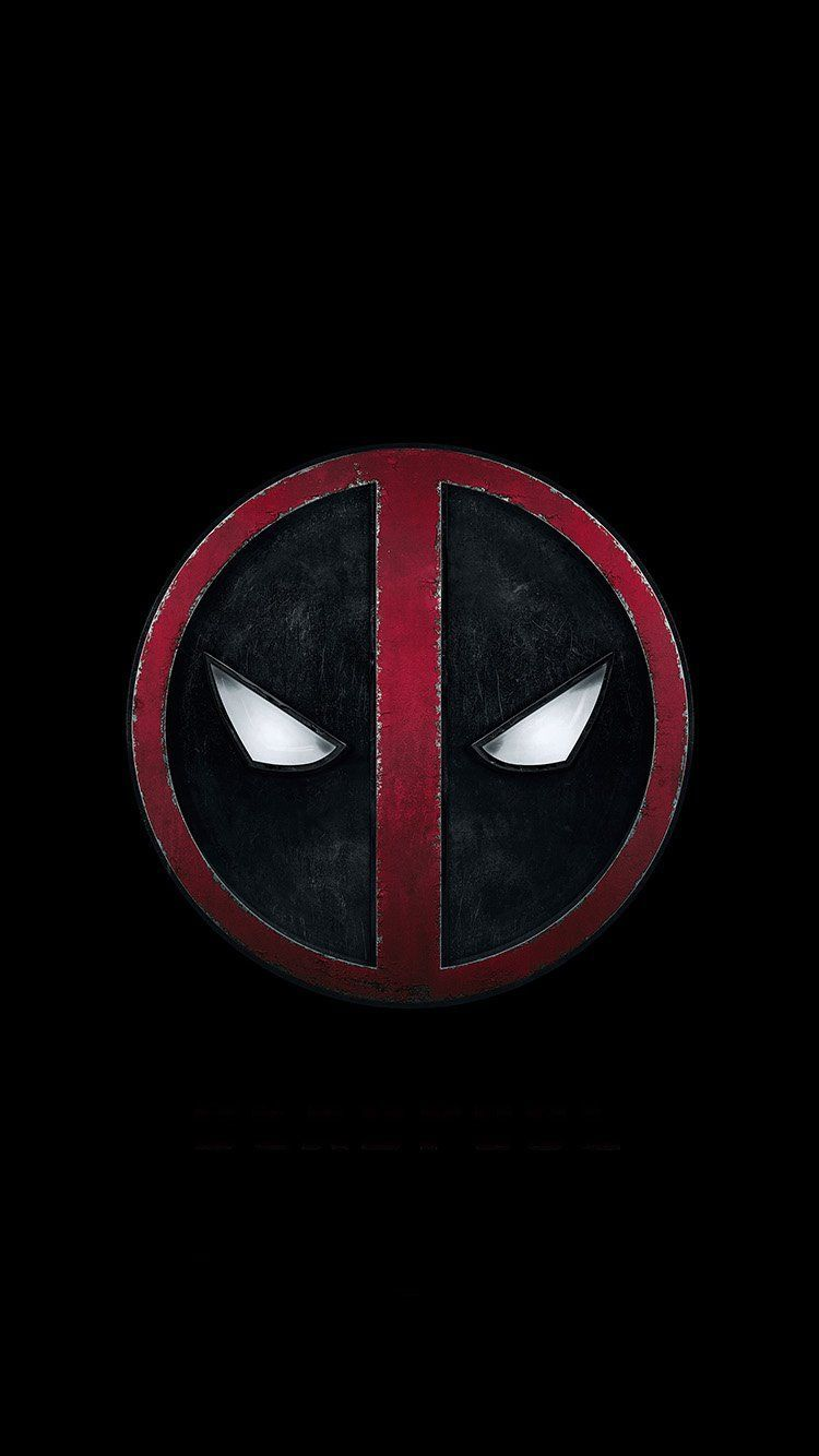 750x1334 ap50-deadpool-art-logo-hero | Wallpaper | Deadpool wallpaper ...