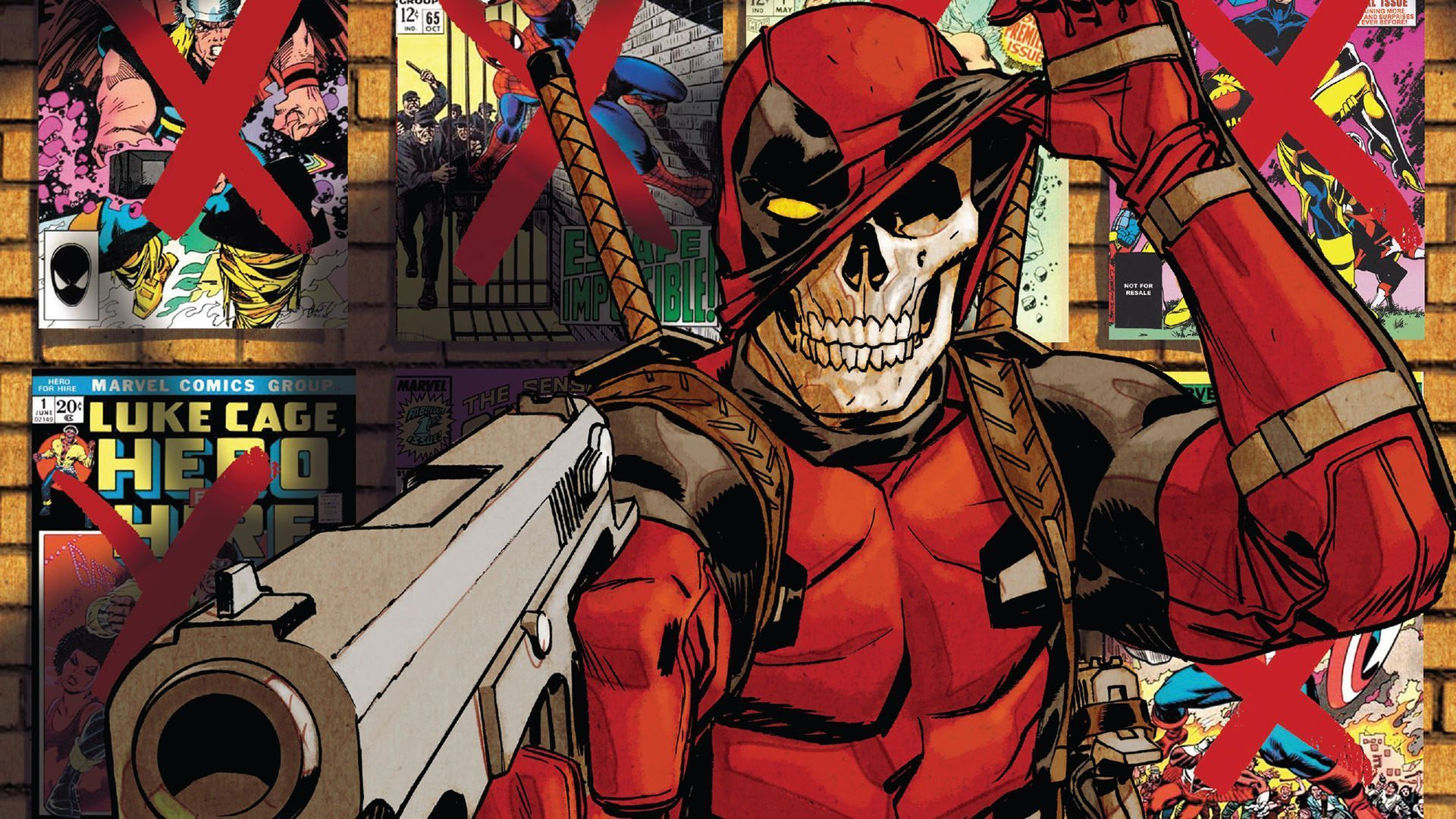 1920x1080 Deadpool is Dead under his mask | Zoom Comics - Daily Comic ...