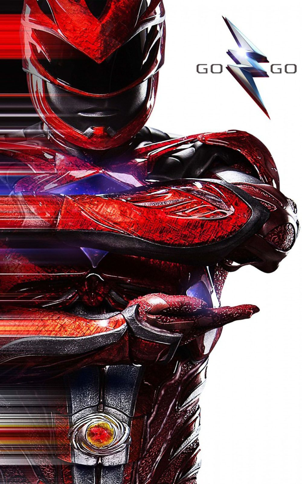 1000x1600 Power Rangers Red Ranger - Download Free HD Mobile Wallpapers