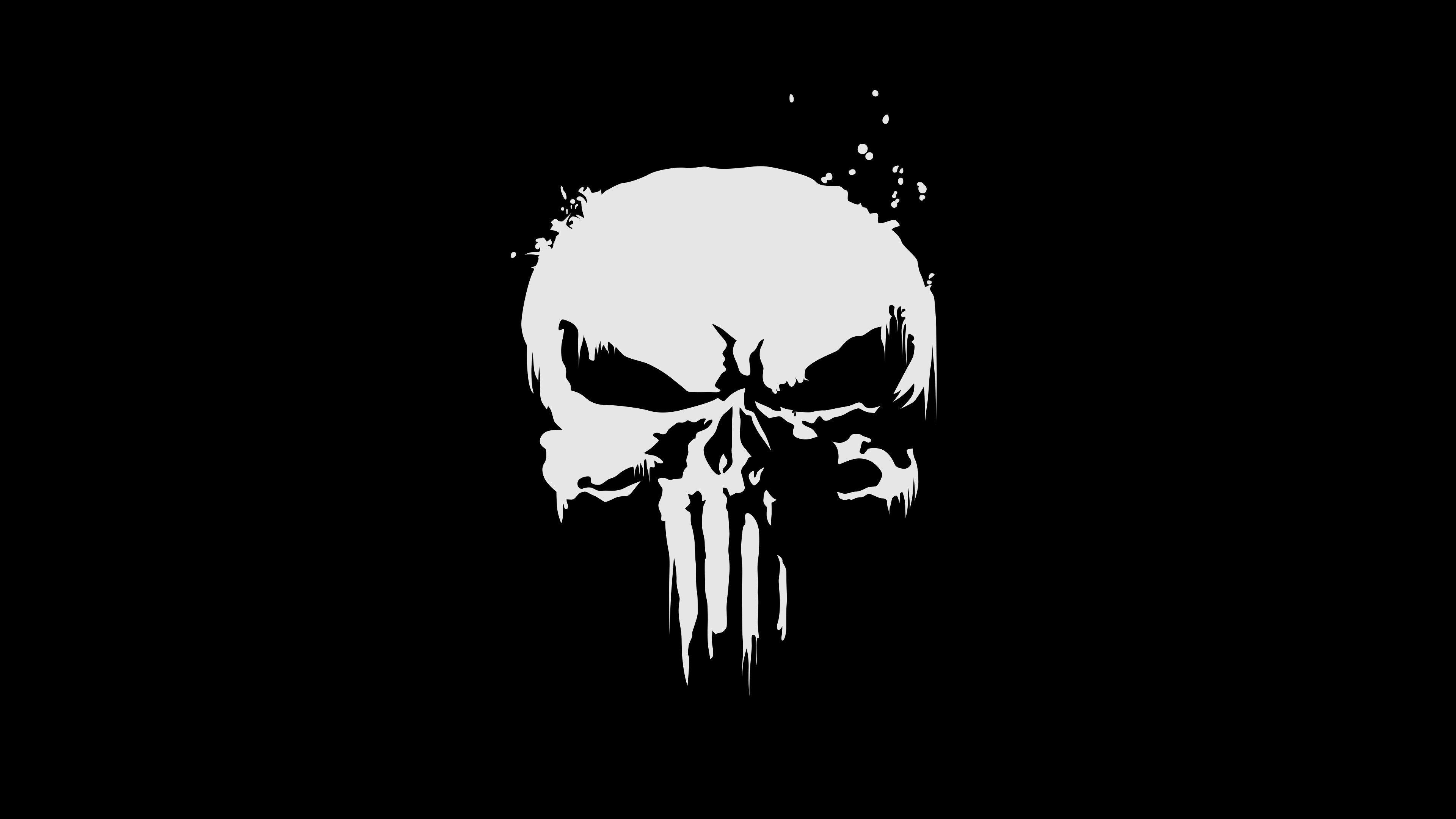 3840x2160 the punisher logo 4k 3d | Zoom Comics - Daily Comic Book ...