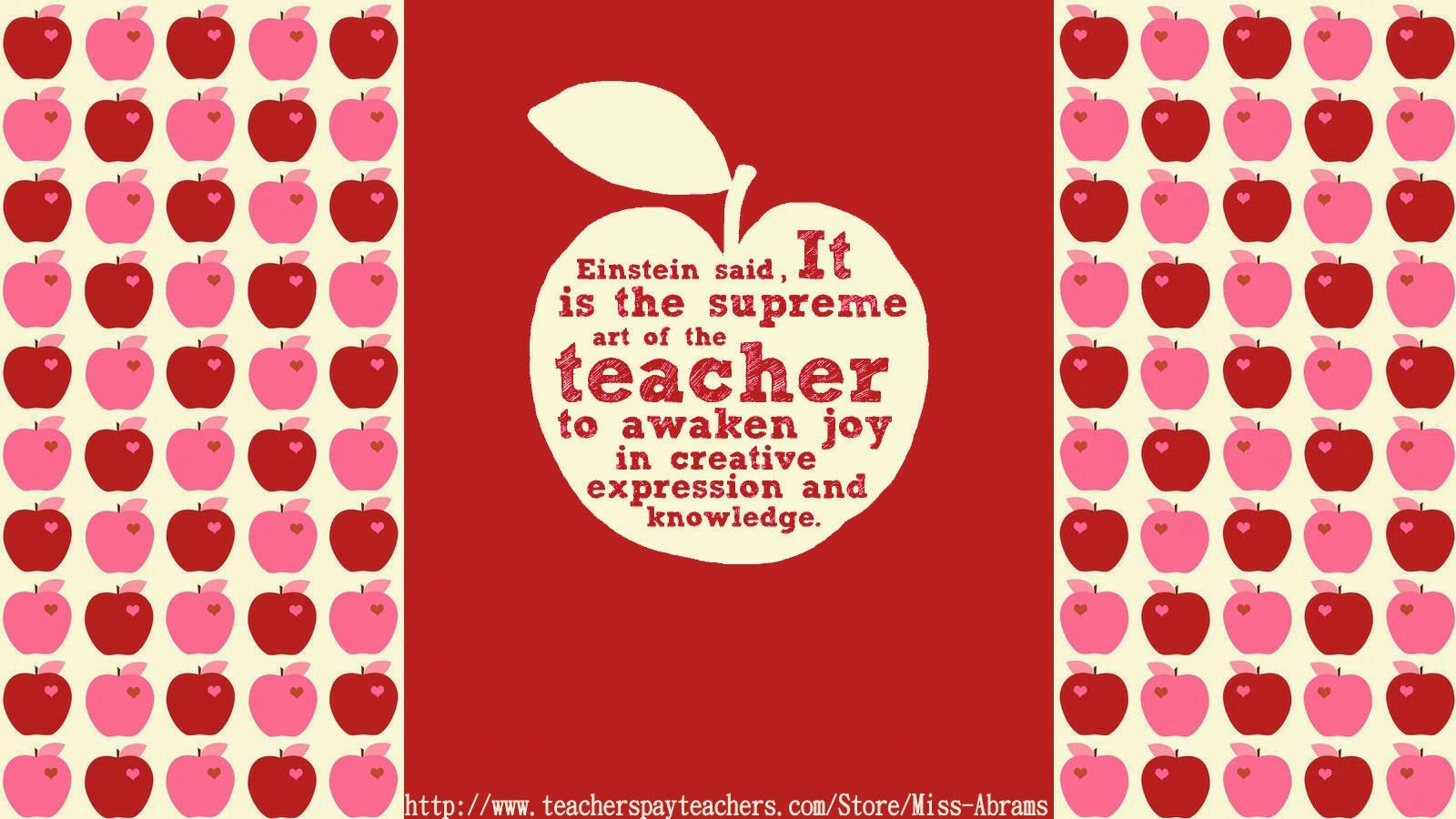 1600x900 Free Teacher-themed wallpapers to decorate your computer ...