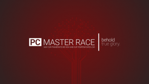 Red PC Gaming Master Race Wallpapers – Top Free Red PC Gaming Master Race Backgrounds