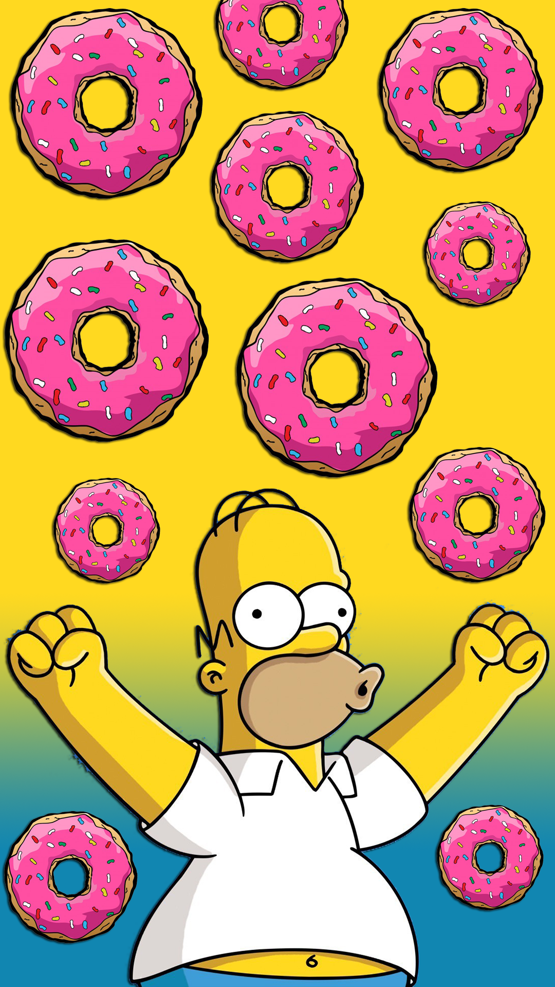 1080x1920 Donut Wallpapers