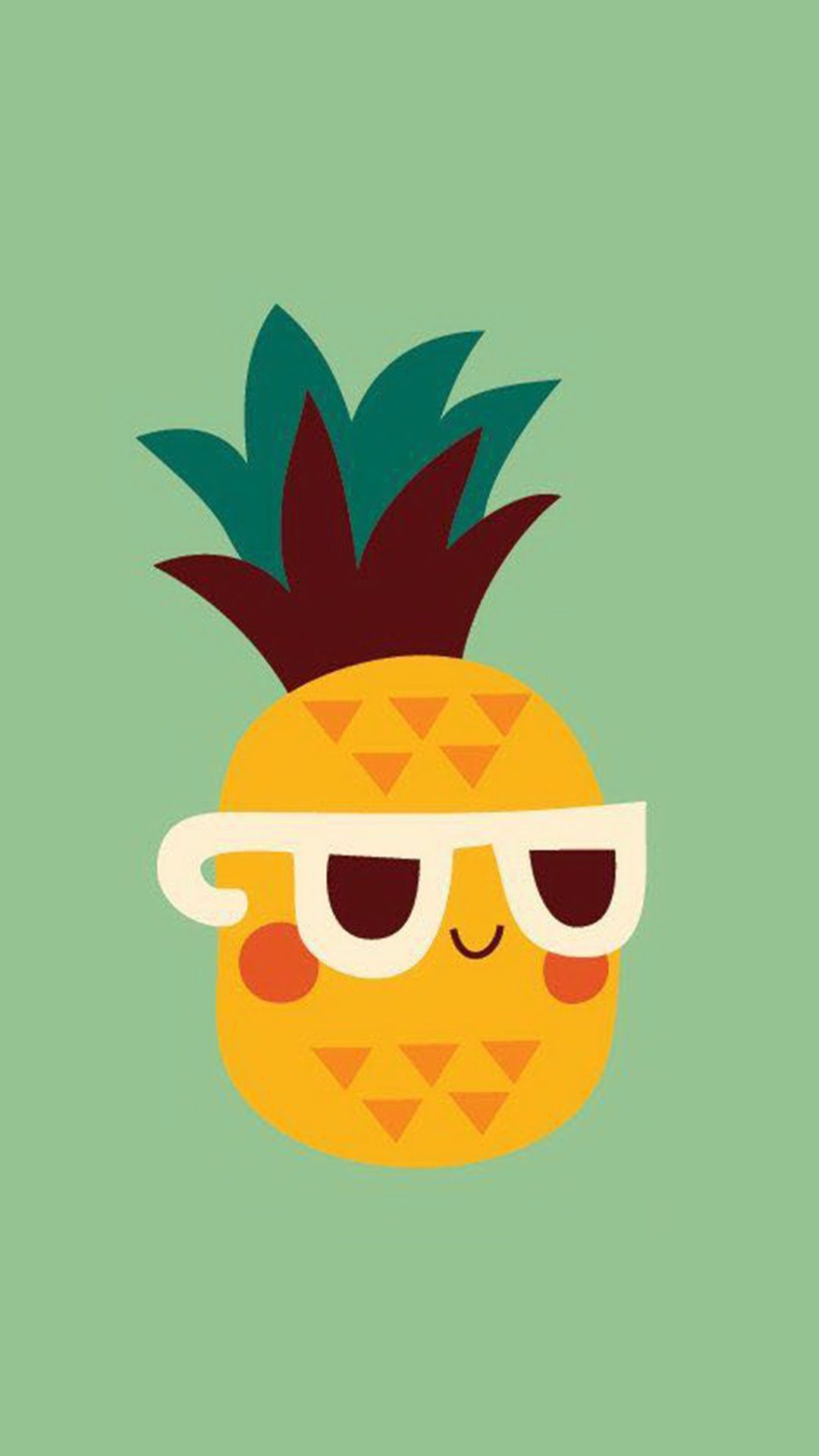 1080x1920 Pin by Nora S on pineapple in 2019 | Pineapple wallpaper ...