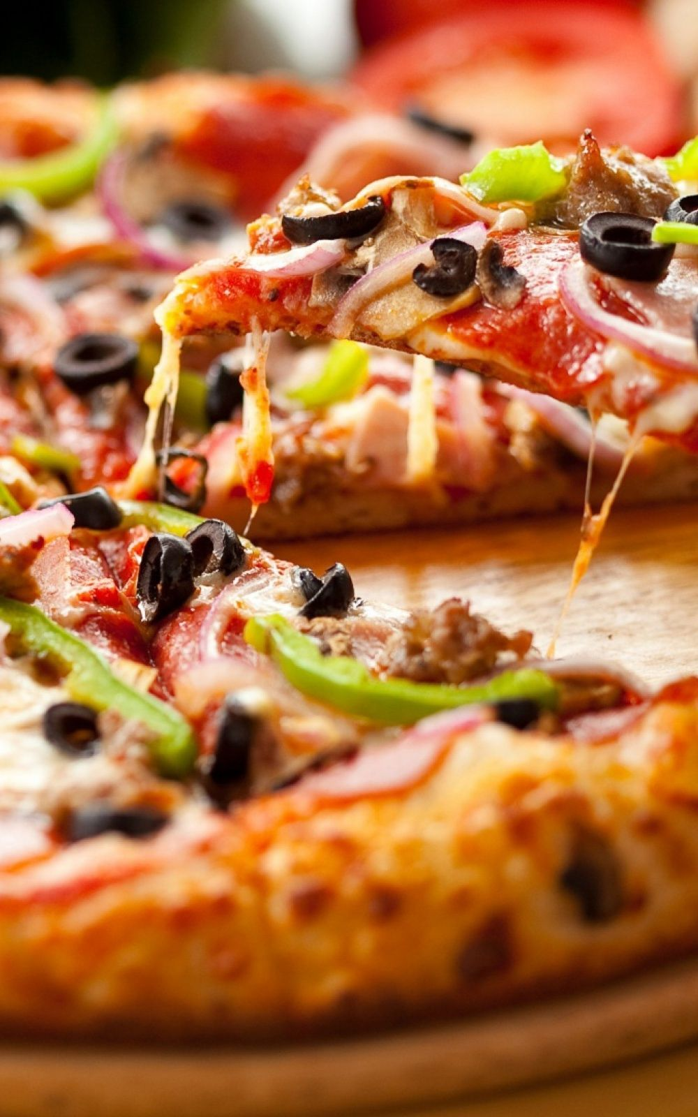 1000x1600 45+ Pizza Phone Wallpapers - Download at WallpaperBro