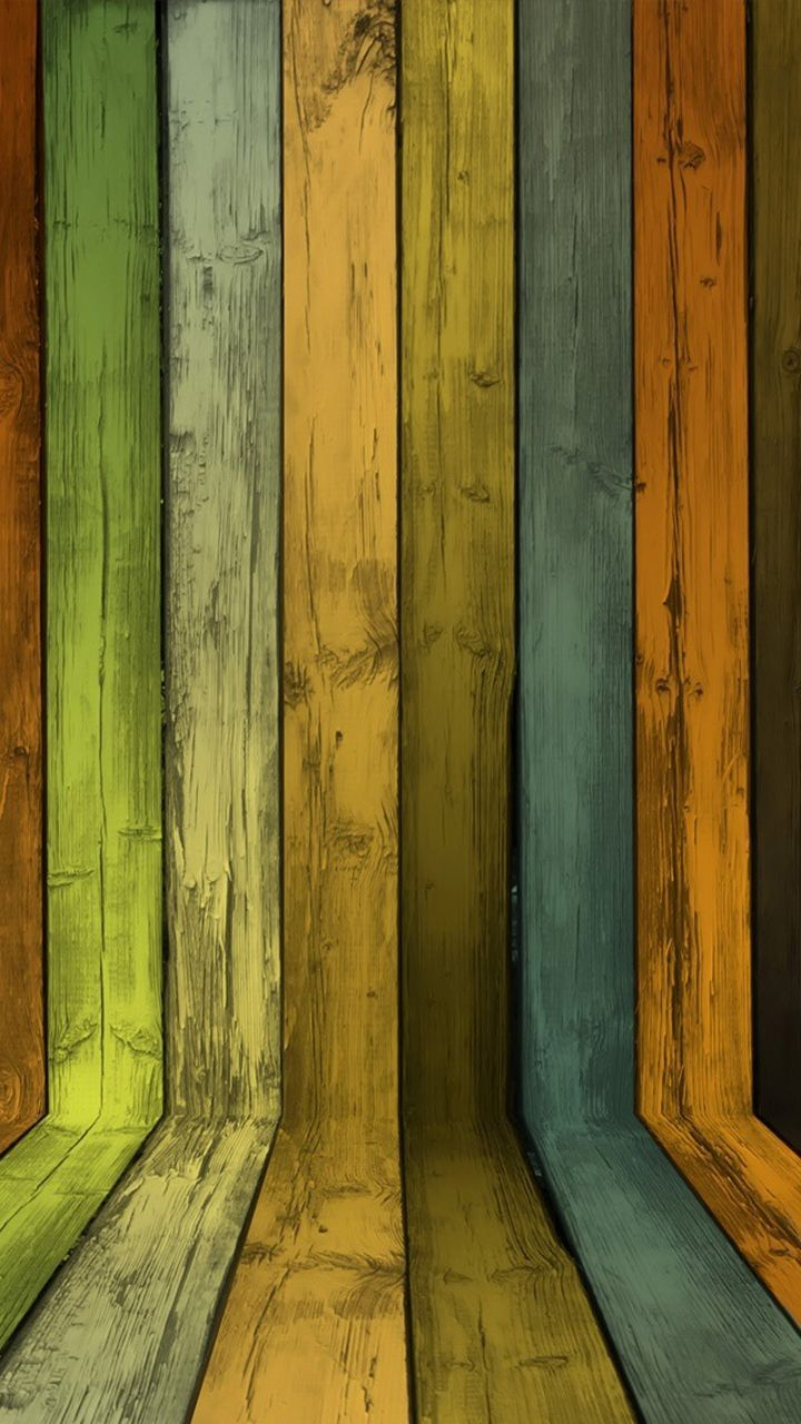 720x1280 Colourful wood texture - Wooden Style iPhone wallpapers ...