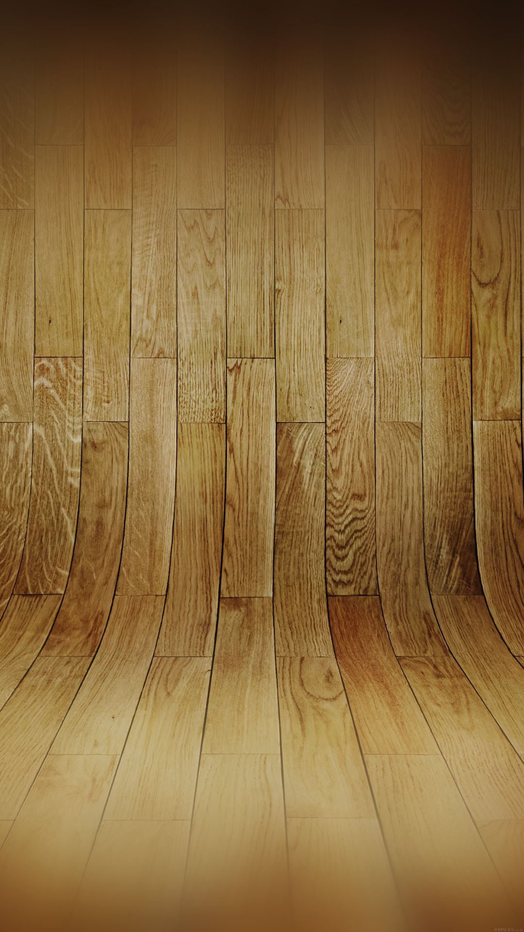 1080x1920 Curved 3D Wood Planks Texture #iPhone #6 #plus #wallpaper ...