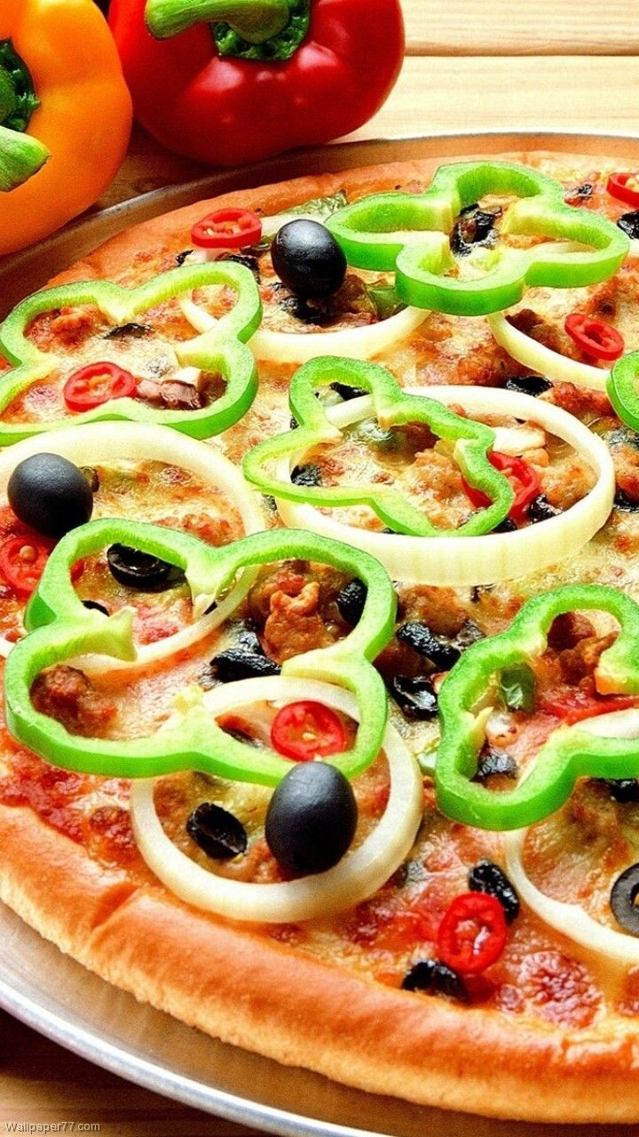 720x1280 Yummy Pizza Wallpaper (102+ images in Collection) Page 1