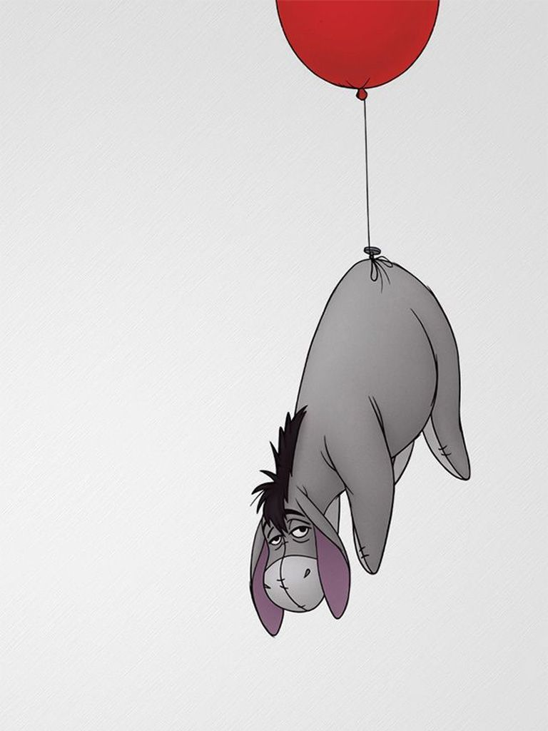 768x1024 Eeyore iPad Mini Resolution 768 x 1024 | so tumblr in 2019 ...