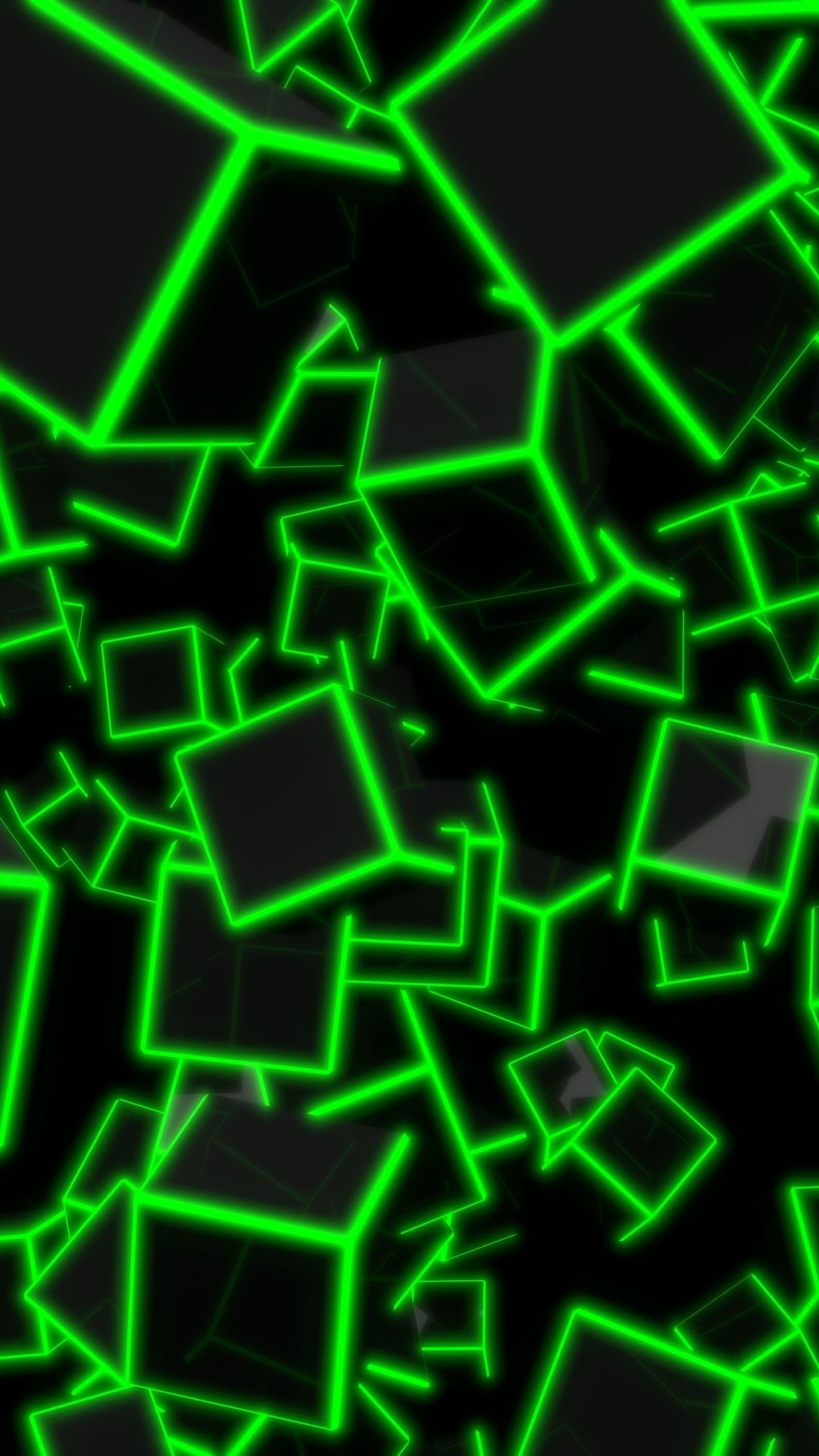 1440x2560 77+ Green Neon Wallpapers on WallpaperPlay