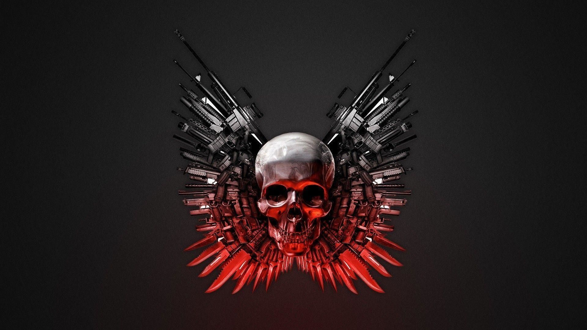 1920x1080 73+ Abstract Skull Wallpapers on WallpaperPlay