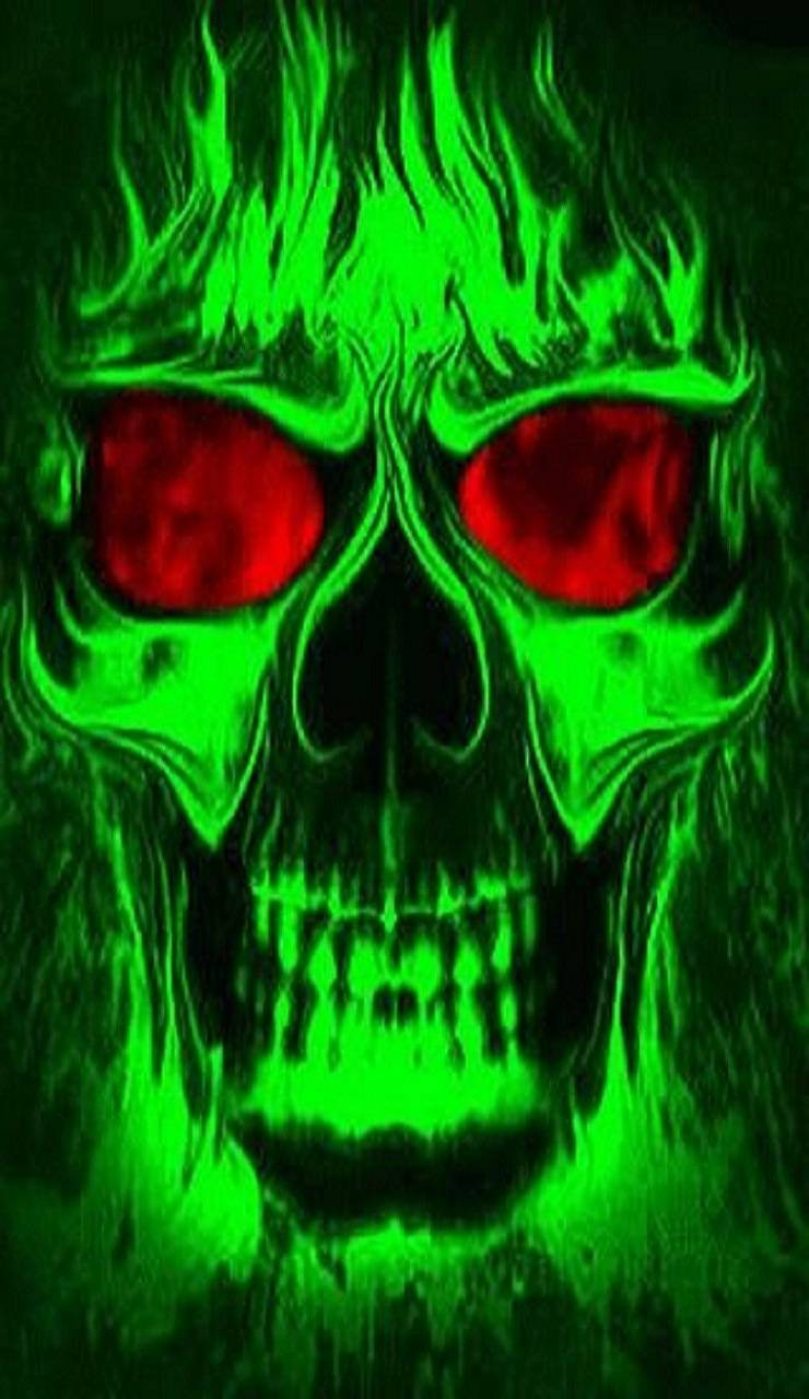 740x1280 neon skull Wallpaper by whiskylover98 - 06 - Free on ZEDGE™