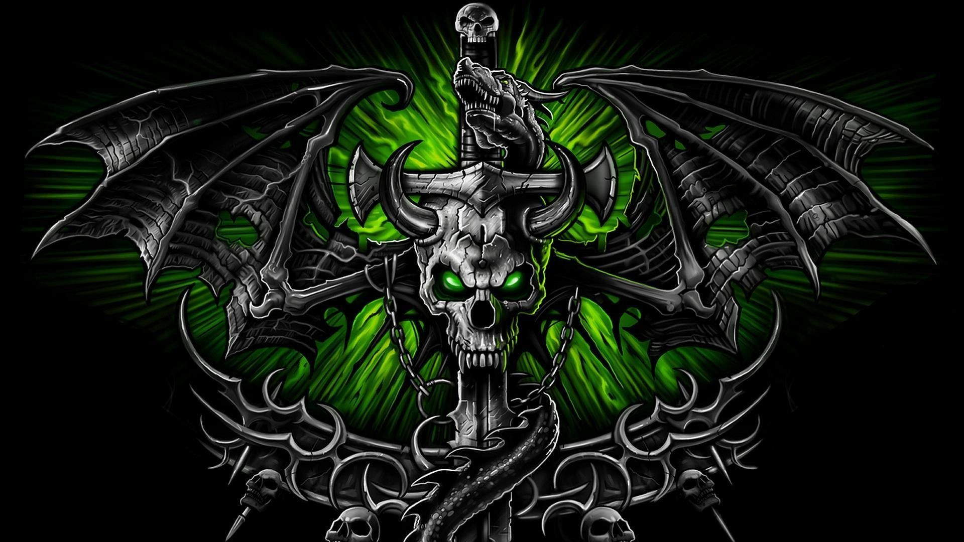 1920x1080 Hd skull wallpapers for android Gallery
