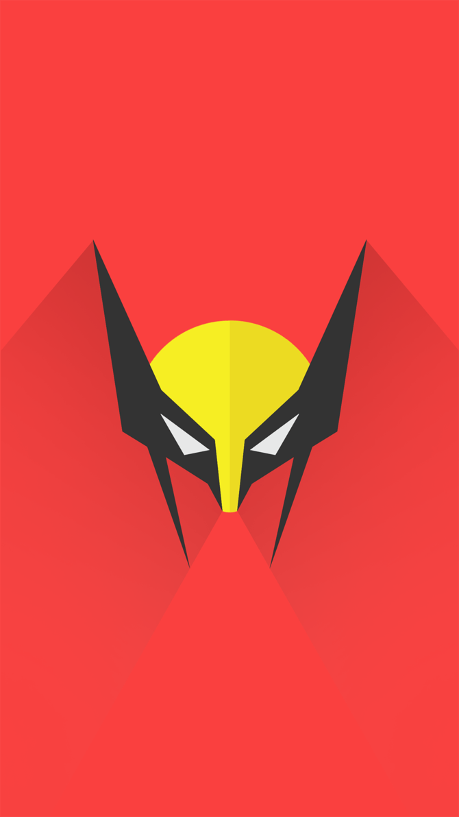670x1191 Wolverine Logo Wallpapers