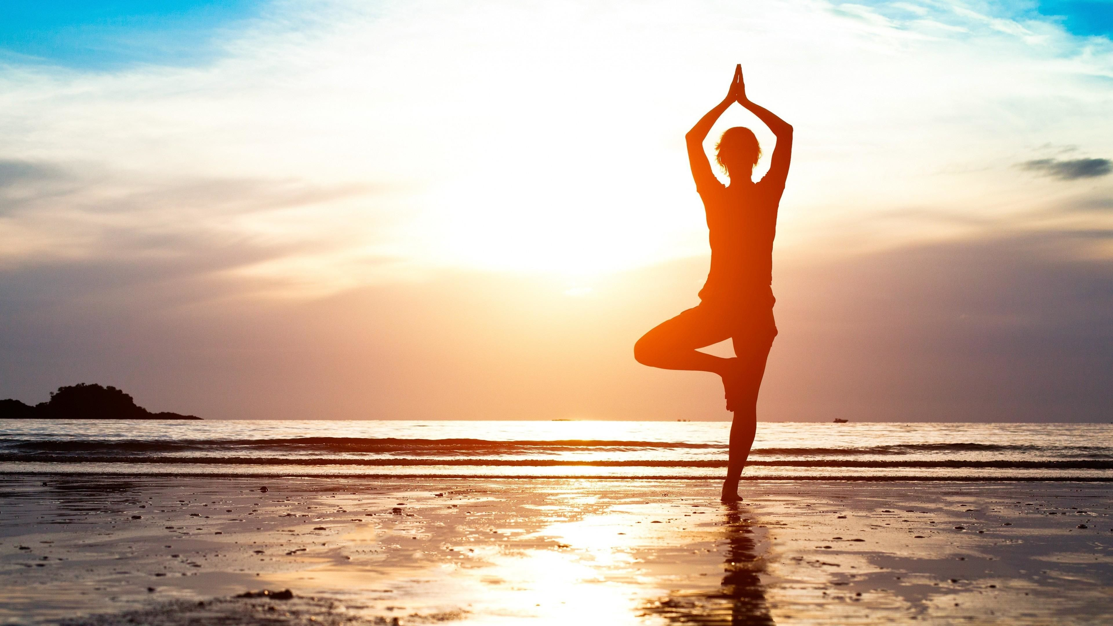 3840x2160 56+ Yoga Background Wallpapers on WallpaperPlay