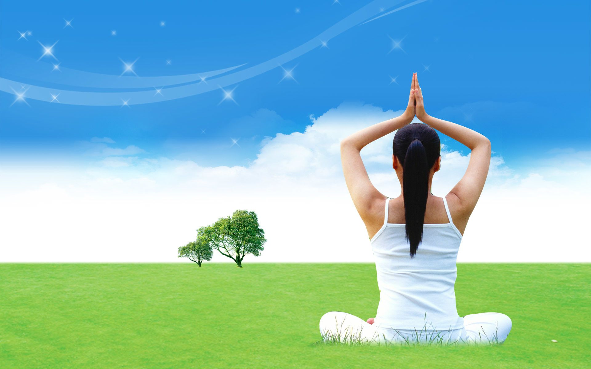 1920x1200 56+ Yoga Background Wallpapers on WallpaperPlay