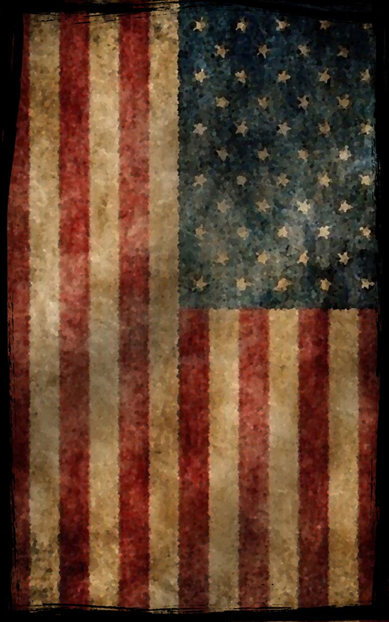 800x1280 Vintage American Flag | Vintage Flag Cell Phone Skin for Lifeproof ...