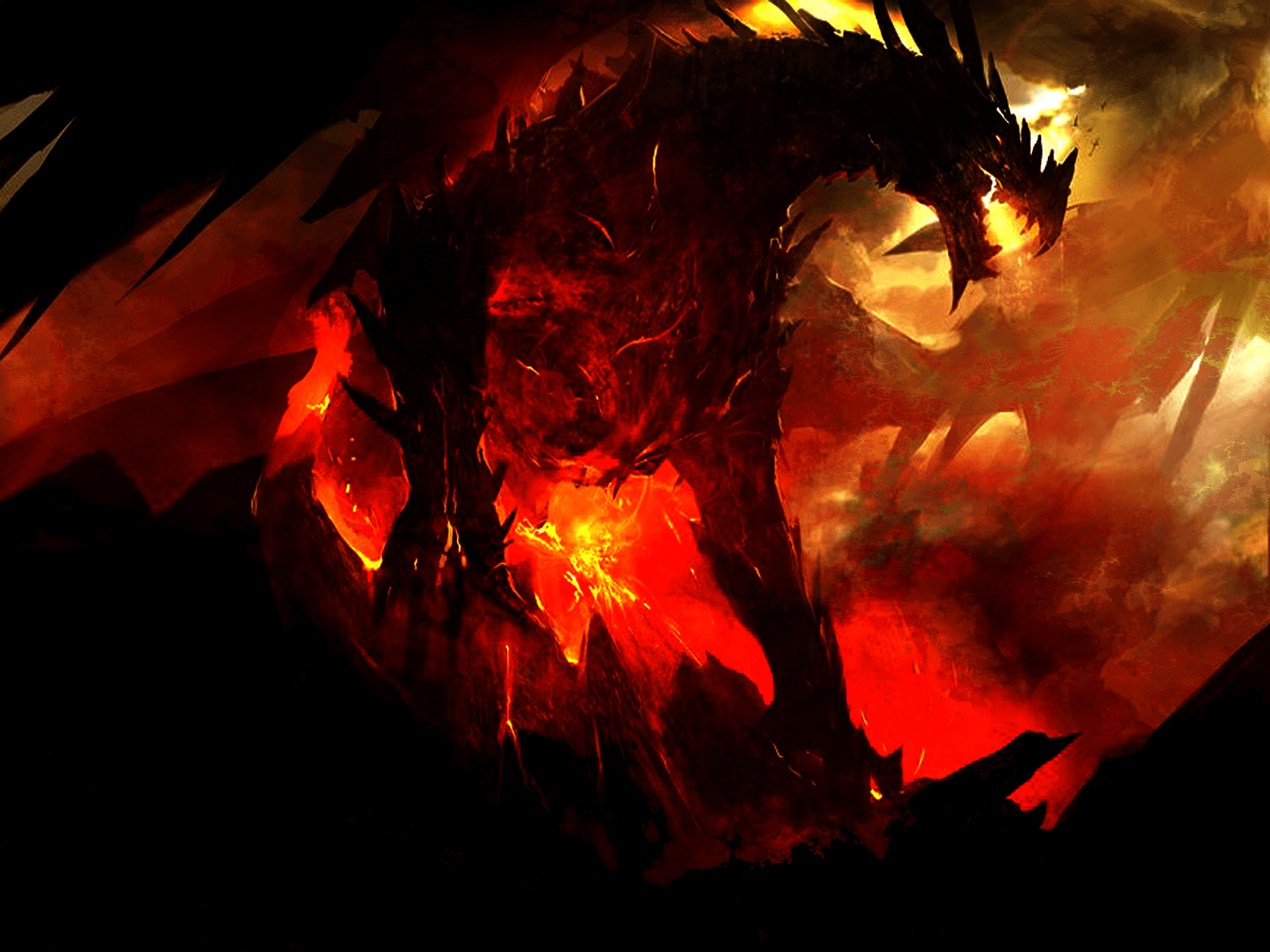 1600x1200 Dragon Wallpapers Png