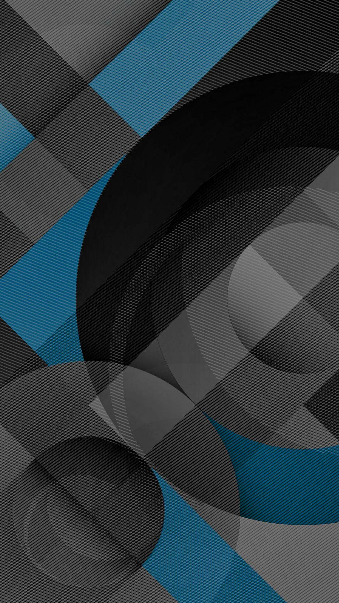 1080x1920 Blue Grey and Black Geometric Wallpaper | *Abstract and ...