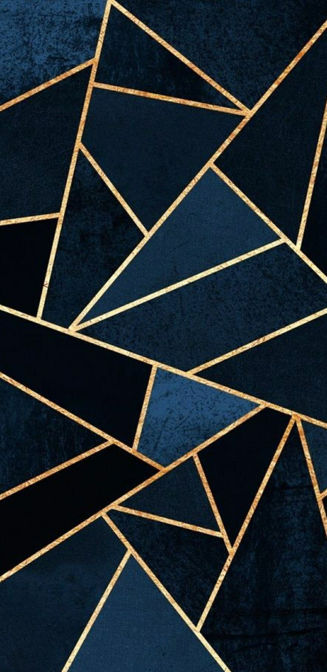 1080x2220 45+ Simple Gold Geometric Wallpapers - Download at WallpaperBro