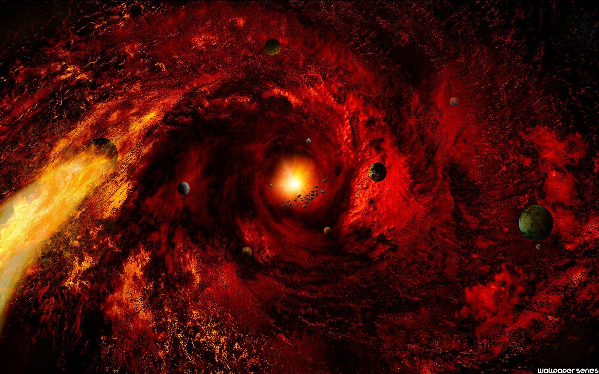 1920x1200 Images of Galaxy Red Nebula - #SpaceMood