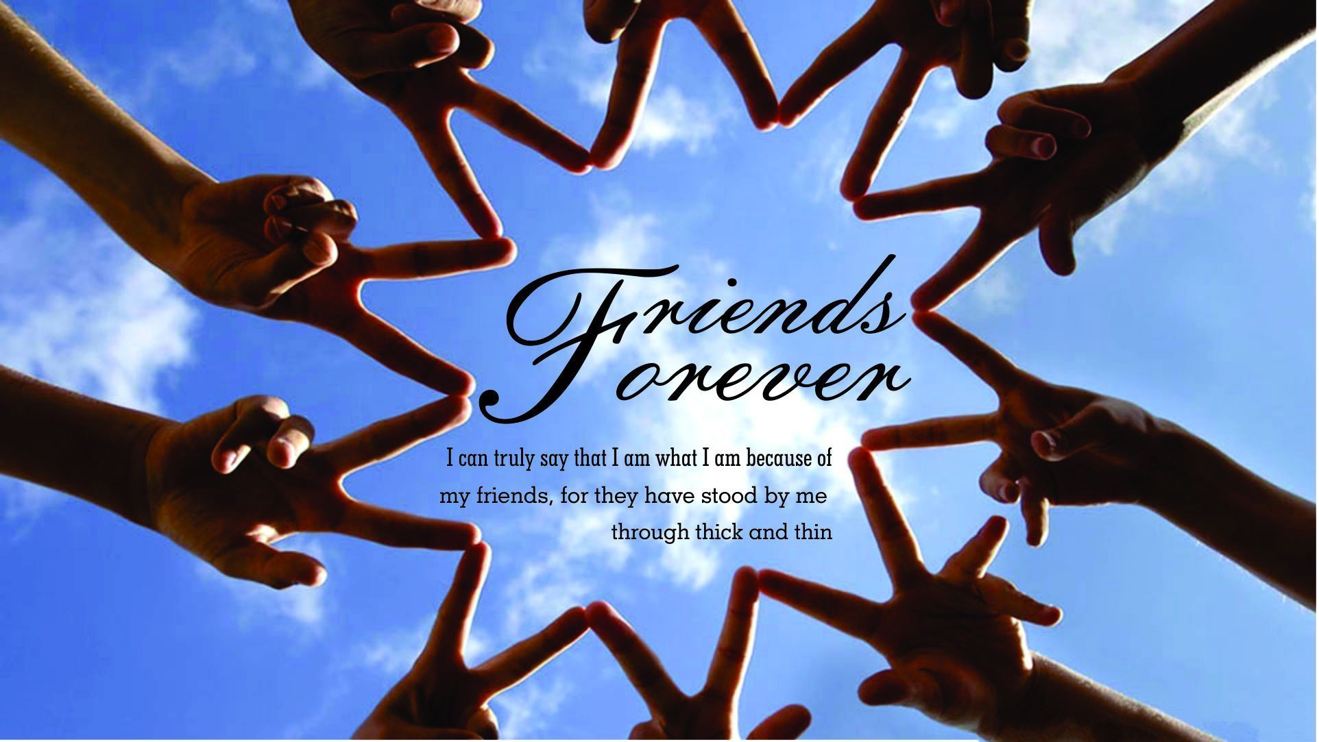 1924x1083 Friends Forever HD Wallpapers