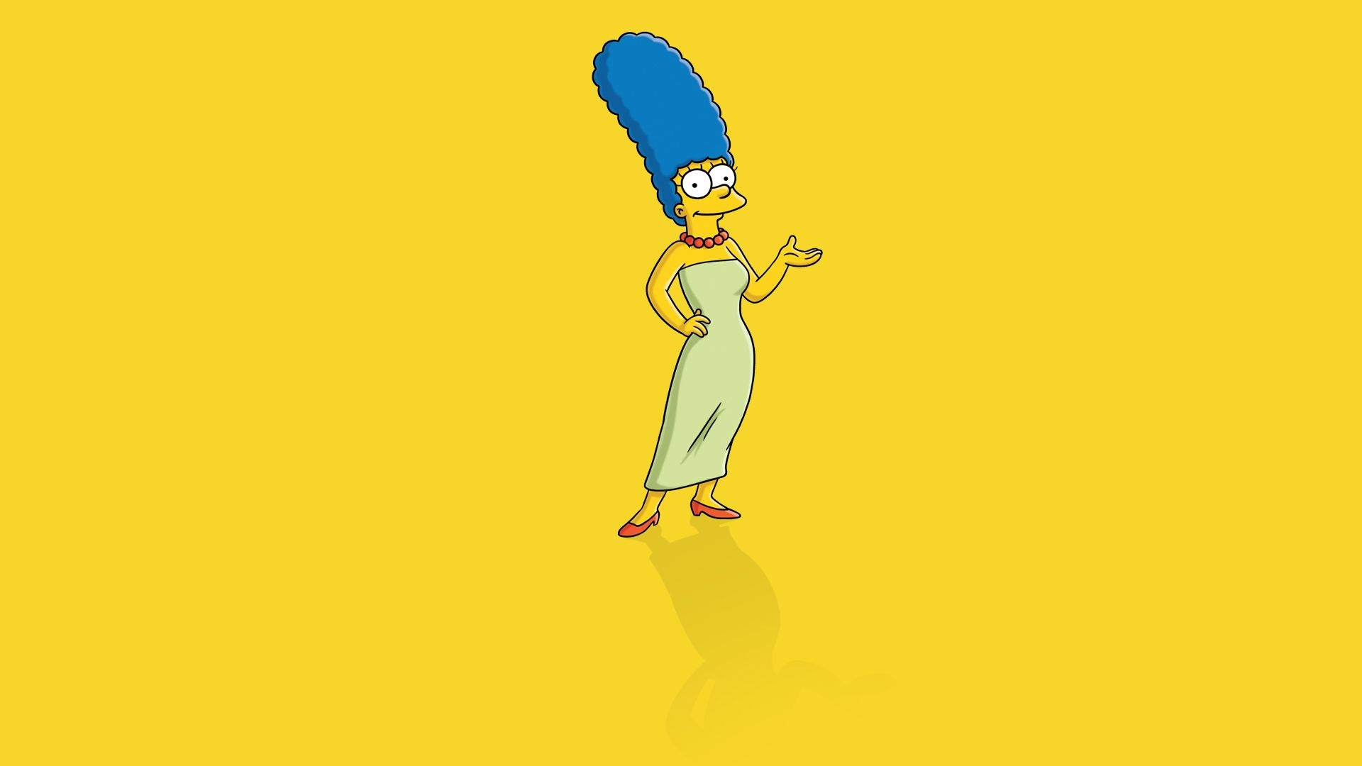 1920x1080 Marge Simpson - Wallpaper, High Definition, High Quality ...