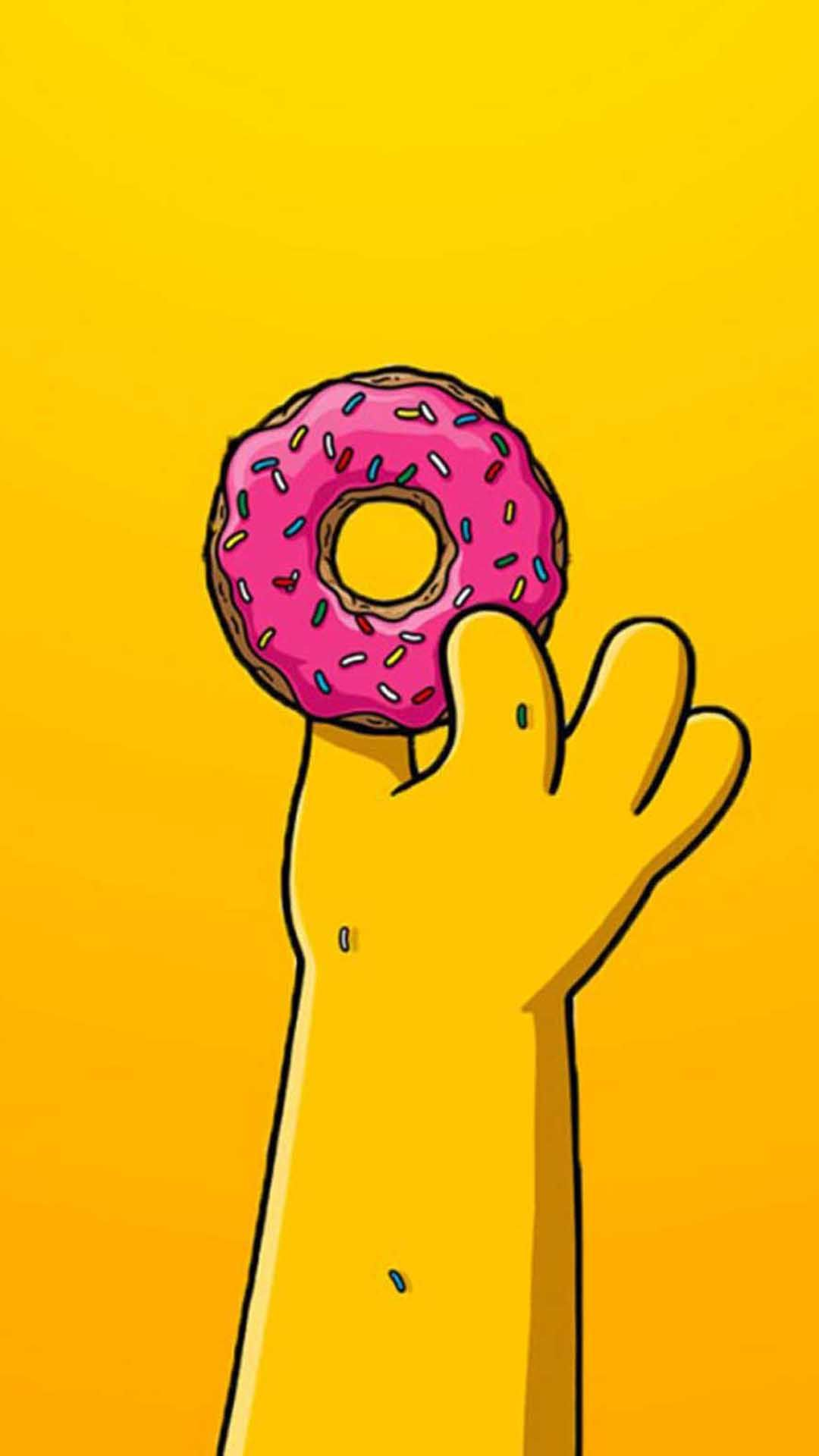 1080x1920 Homer Simpson Wallpaper for iPhone X, 8, 7, 6 - Free ...