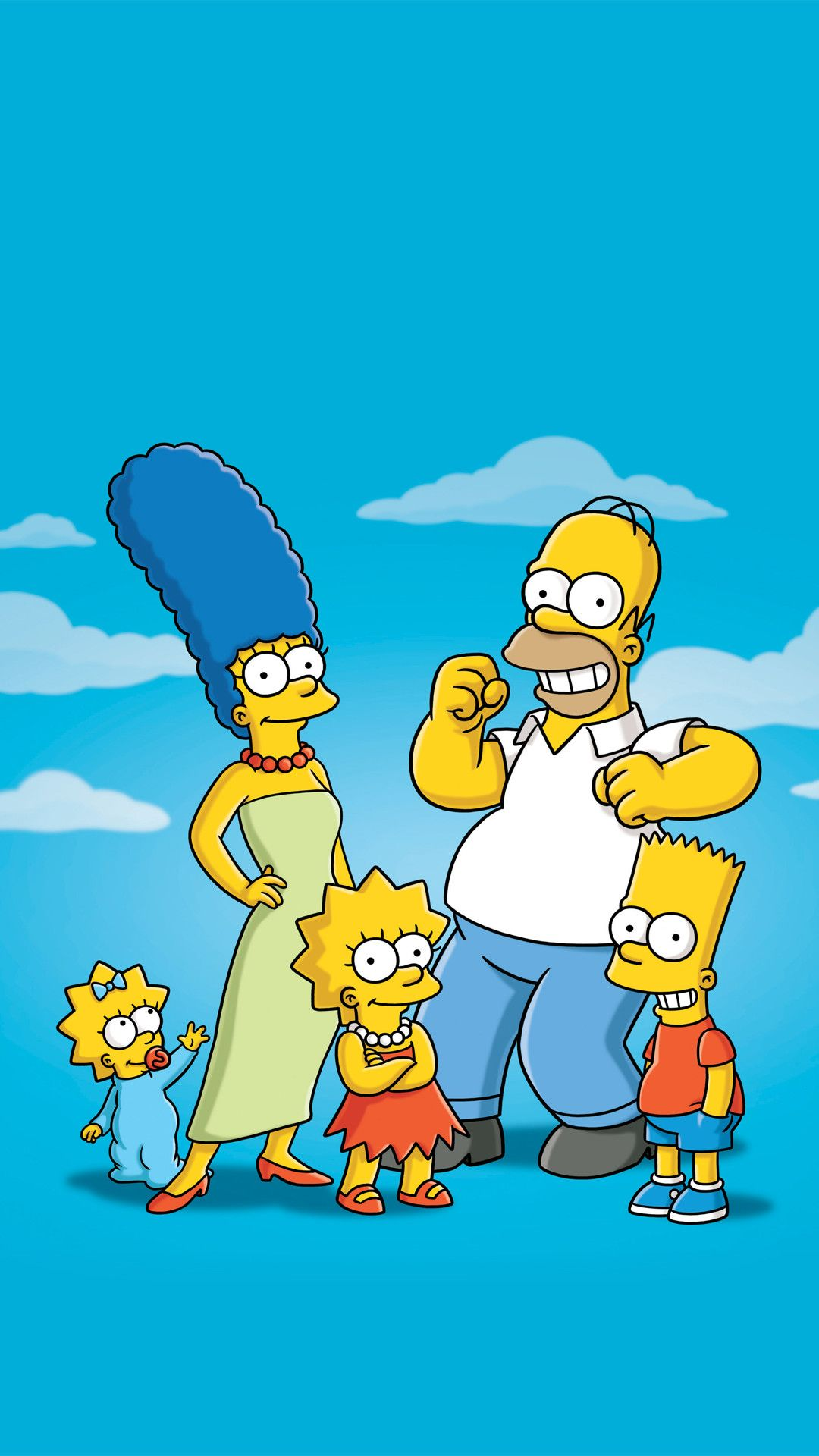 1080x1920 73+ The Simpson Wallpapers on WallpaperPlay