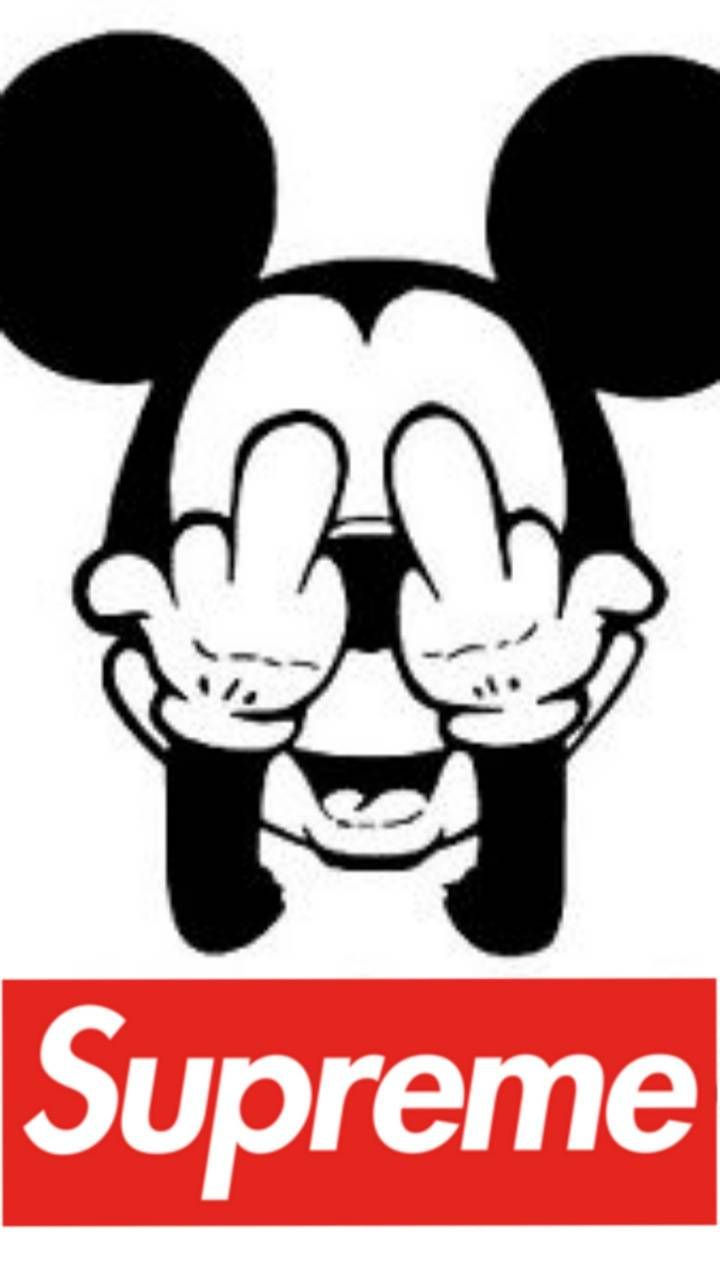 720x1280 Mickey Mouse Supreme Wallpaper by ChickenFriedJesus - ef ...