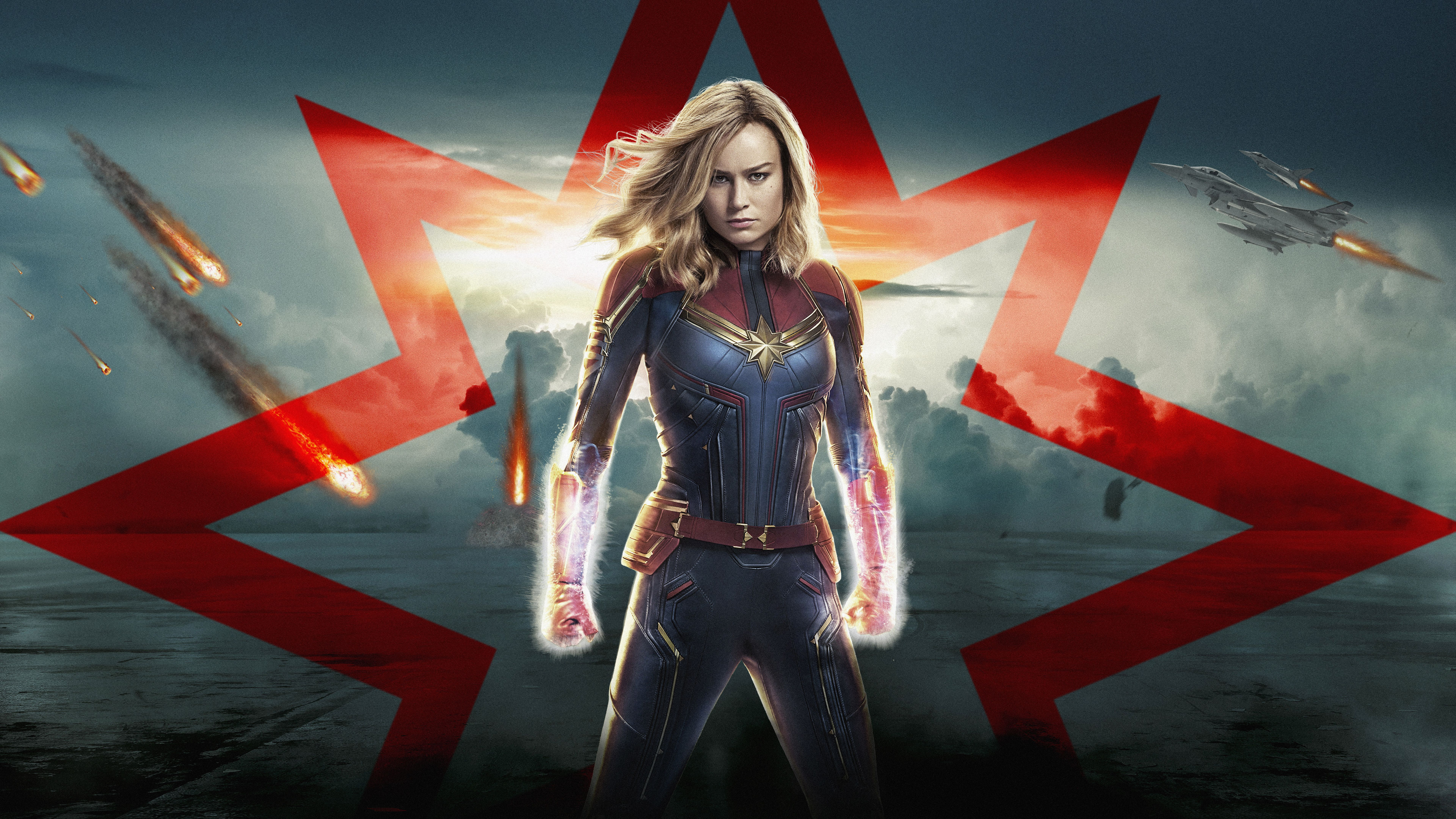 7680x4320 Captain Marvel 4K 8K 2019 Wallpapers | HD Wallpapers | ID #27275