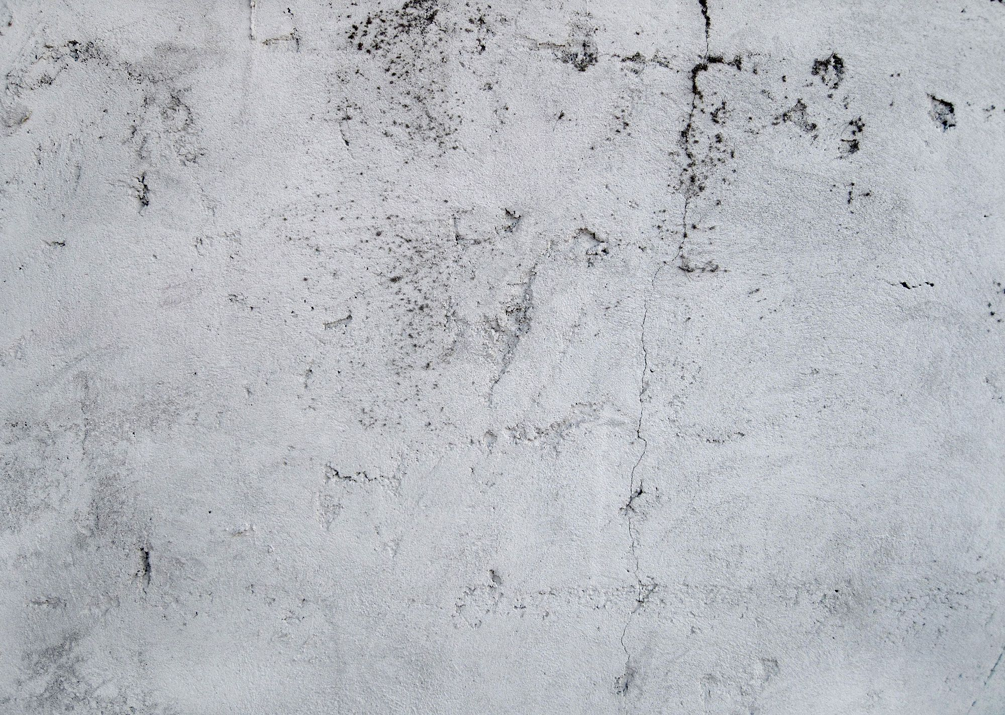 2000x1424 White Wall Texture Cracks Grunge Desktop Wallpaper