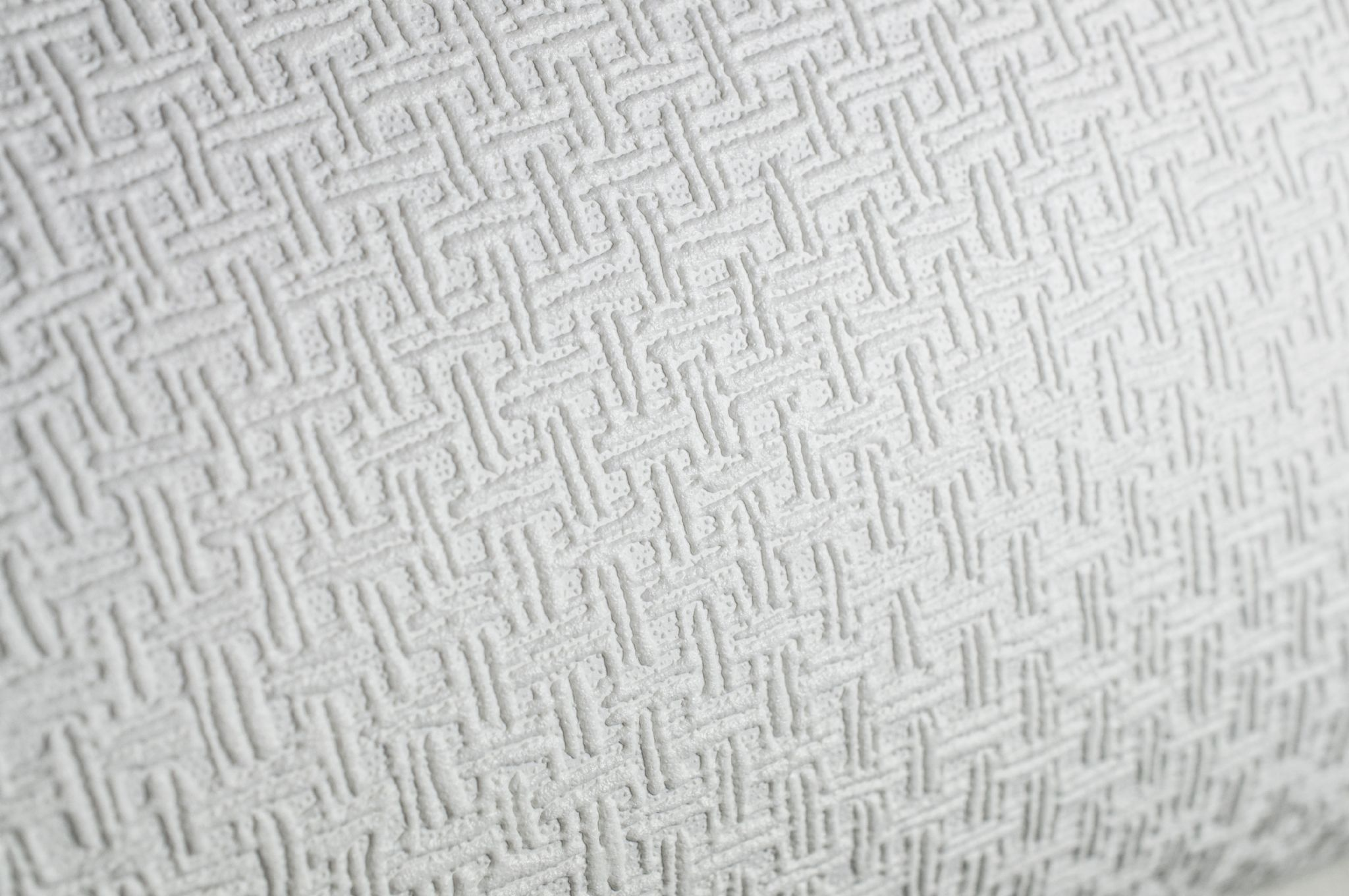 2048x1360 Graham & Brown Superfresco Paintable 248 Weave White Wallpaper