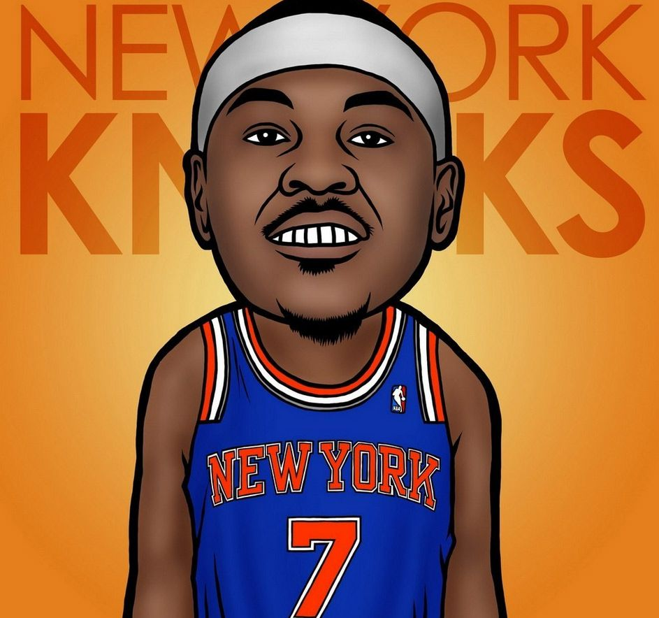 943x884 Free download Cartoon Nba Players Wallpaper Art of the day ...