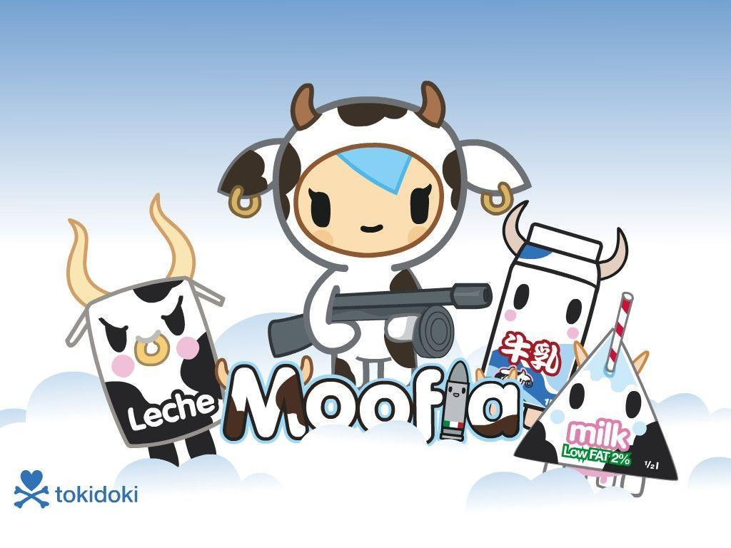 1024x768 Cute Cow Wallpapers