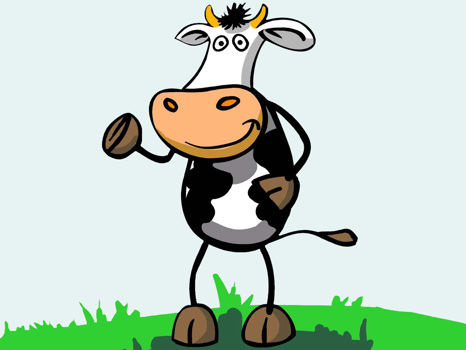 1600x1200 Download Cartoon Cow Picture Wallpaper 1600x1200 | Full HD ...